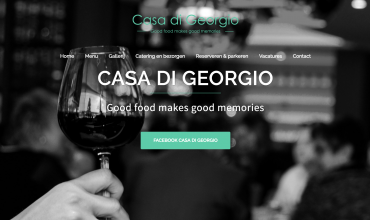 Casa di Georgio – website