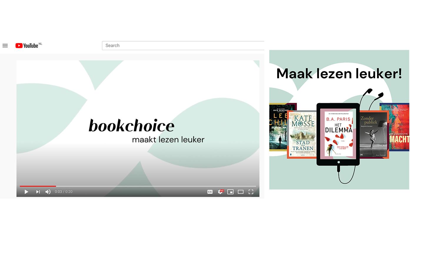 Bookchoice – Social, SEA, Display, OLV